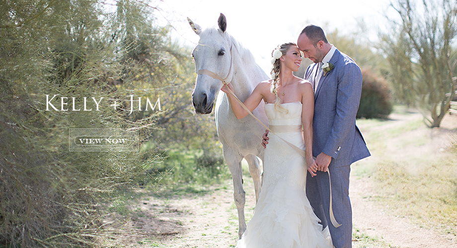 Kelly + Jim's Scottsdale Wedding