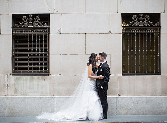 Los Angeles City Club Wedding : CJ + Morgan
